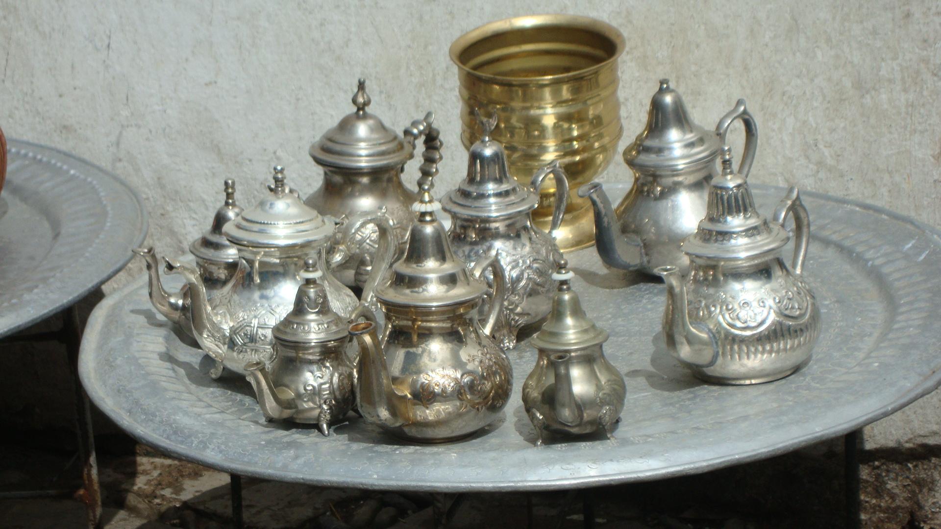 théière maroc
