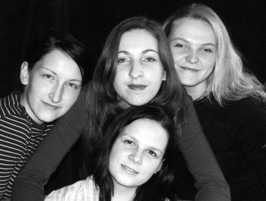 Thekla, Fanny , Bianka und Suse
