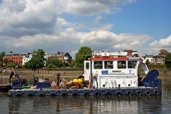 Themsefahrt von London nach Hampton Court 68