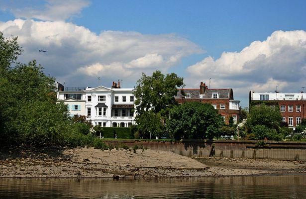 Themsefahrt von London nach Hampton Court 70