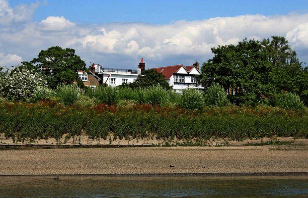Themsefahrt von London nach Hampton Court 74