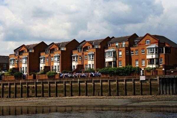 Themsefahrt von London nach Hampton Court 77
