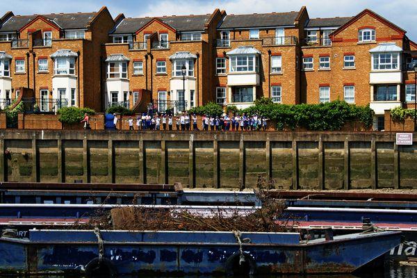 Themsefahrt von London nach Hampton Court 78