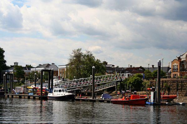 Themsefahrt von London nach Hampton Court 79
