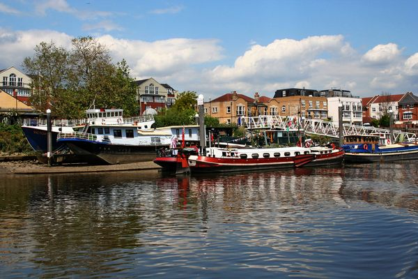 Themsefahrt von London nach Hampton Court 81