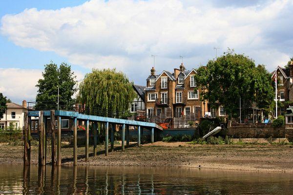 Themsefahrt von London nach Hampton Court 84