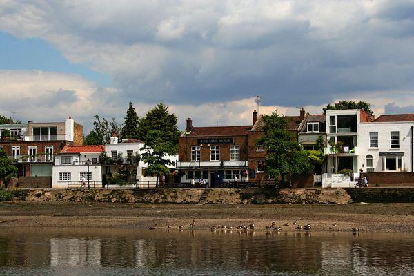 Themsefahrt von London nach Hampton Court 88