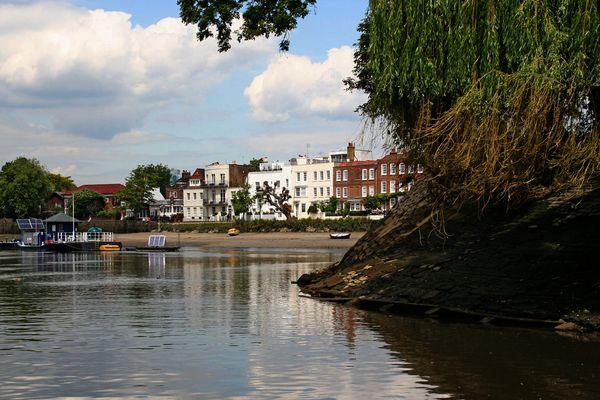 Themsefahrt von London nach Hampton Court 91