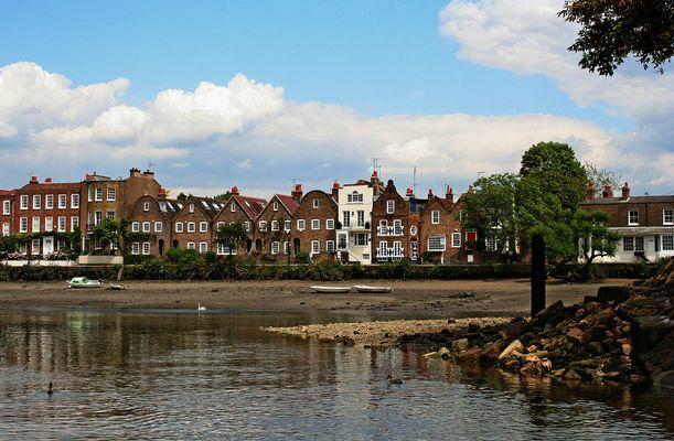 Themsefahrt von London nach Hampton Court 92