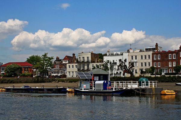 Themsefahrt von London nach Hampton Court 93