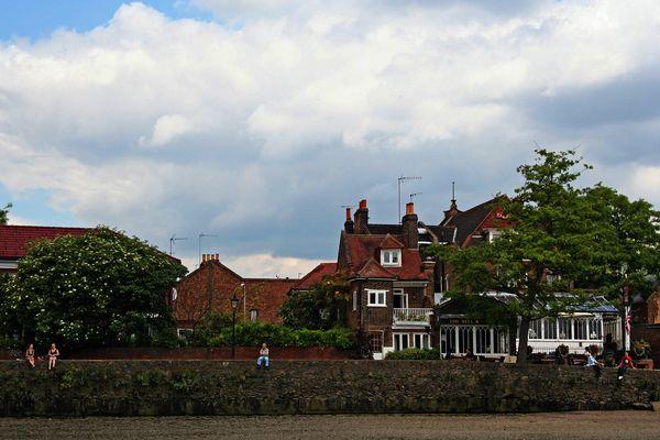 Themsefahrt von London nach Hampton Court 94