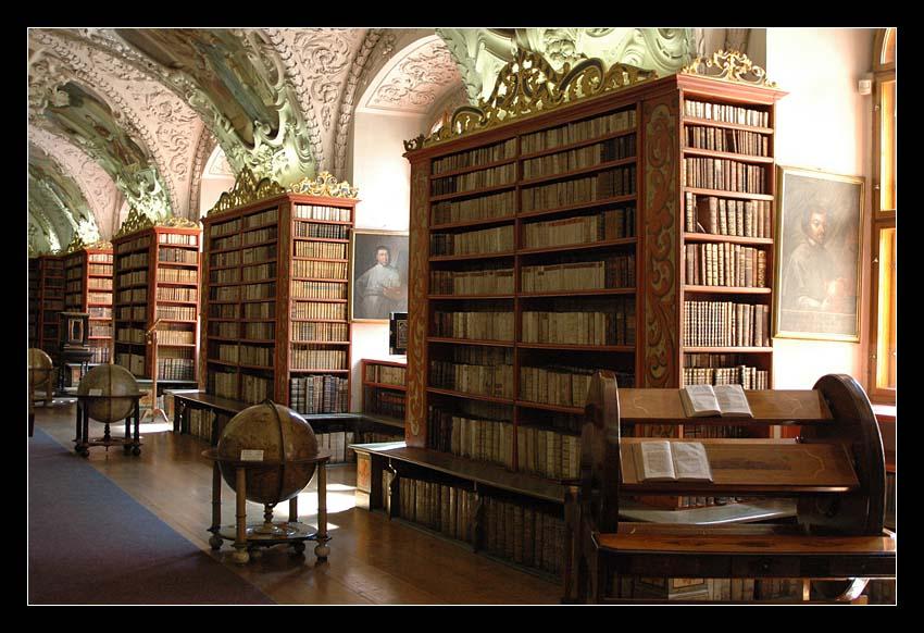 Theologischer Saal der Bibliothek im Kloster Strahov, Prag