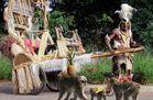 Theos und Yoshis Abenteuer ... in Afrika