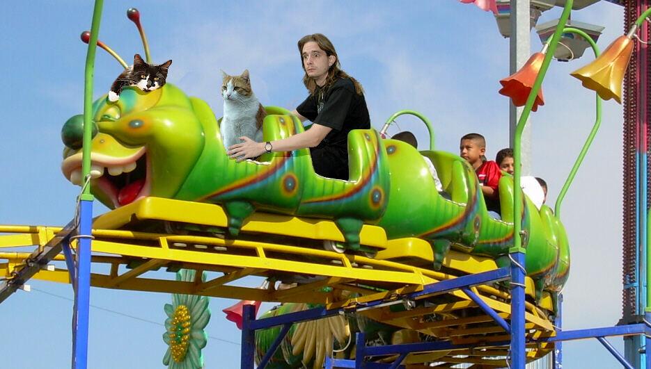 Theos und Yoshis Abenteuer ... in Disneyland