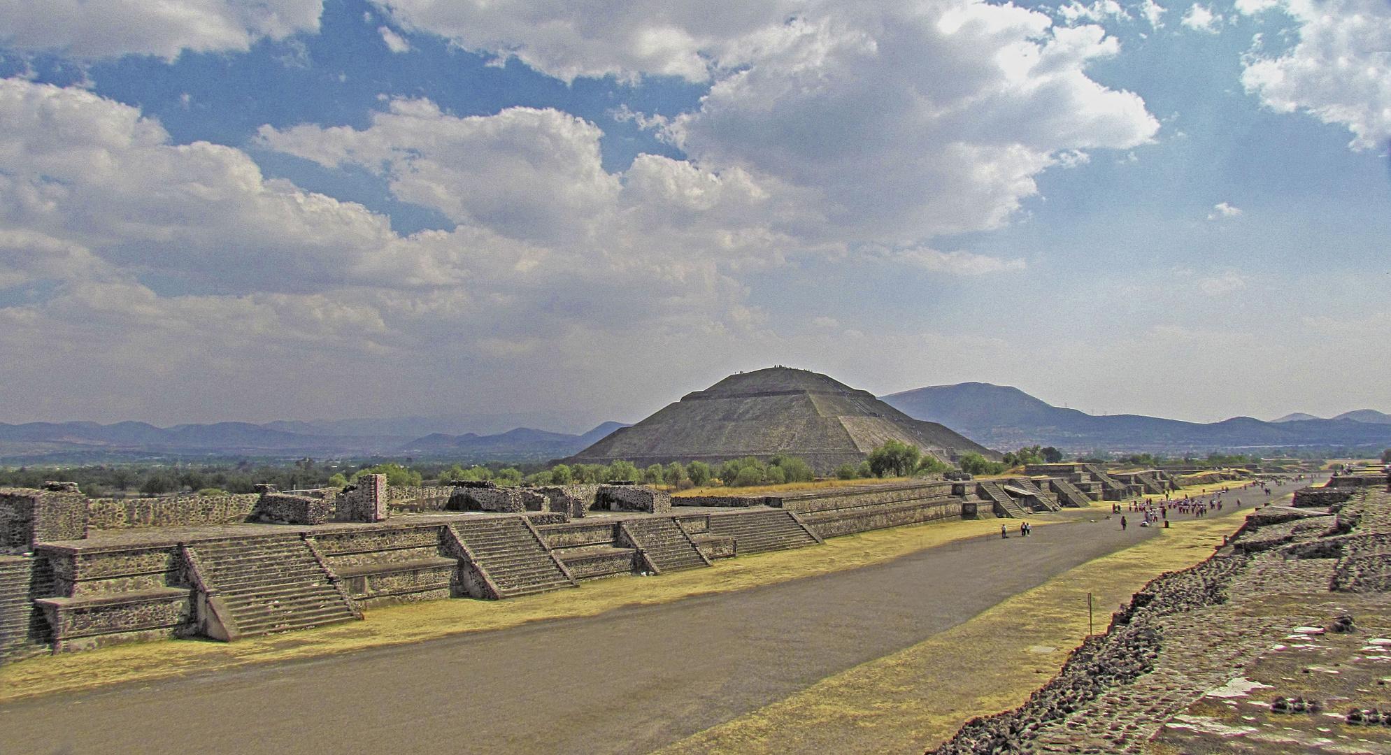 Theotihuacan - Pirámide del Sol