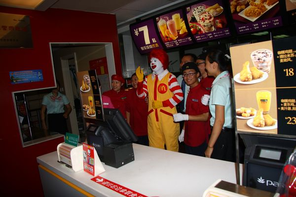 There is nothing so strange as a chinese Ronald McDonald