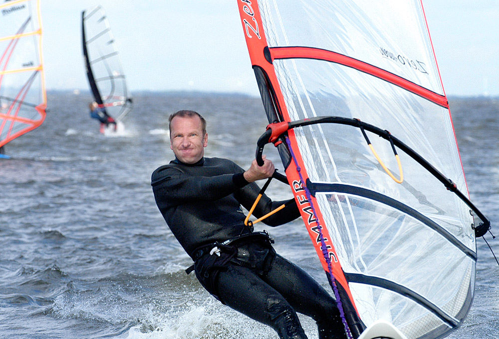 There's no thing, a good day at windsurfin' won't cure!