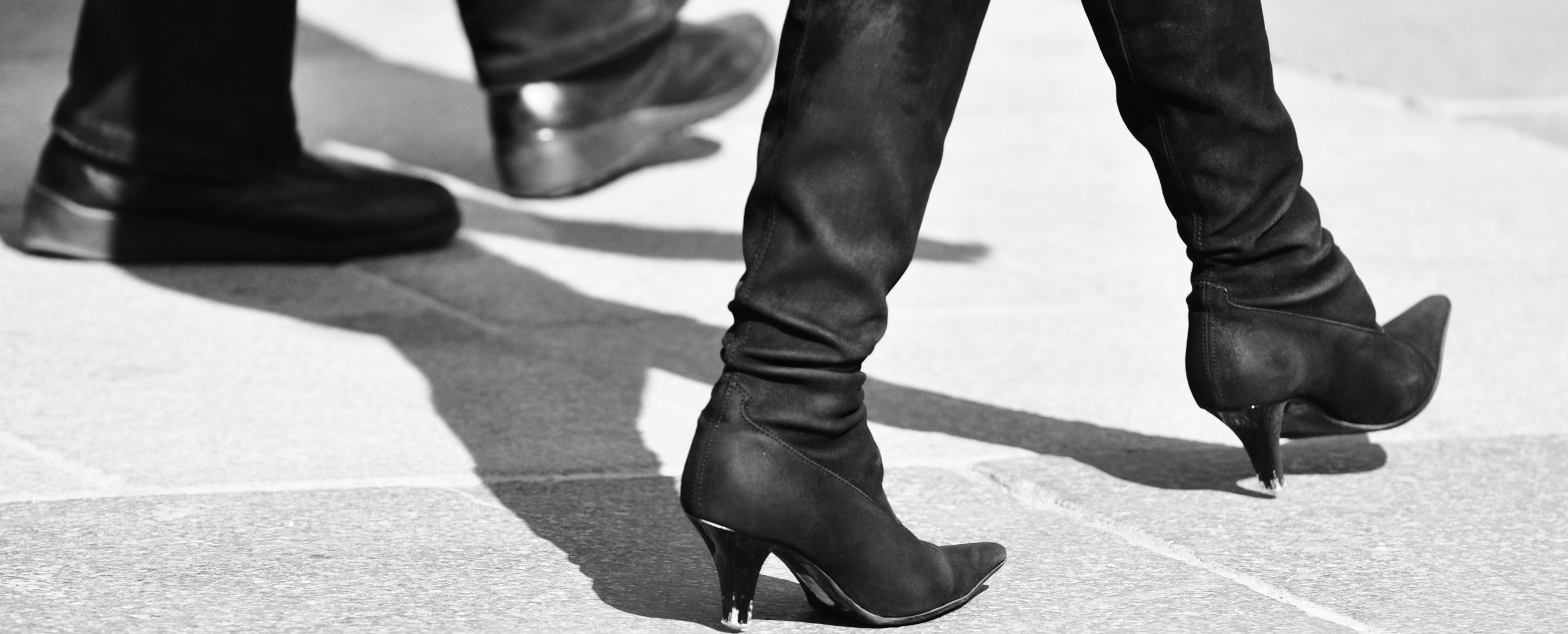 ... these boots are made for walking...