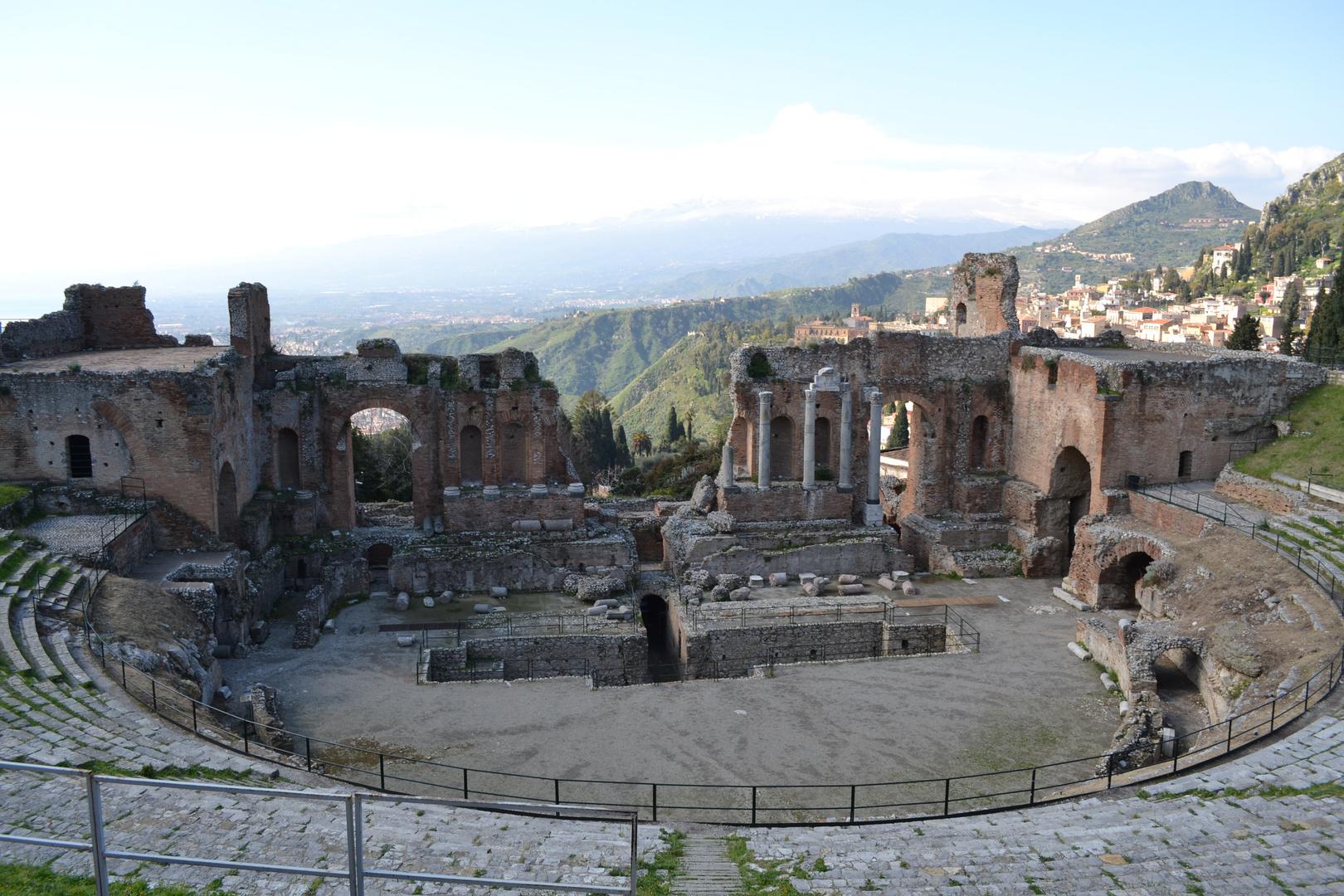 Théâtre gréco-romain, Taormina