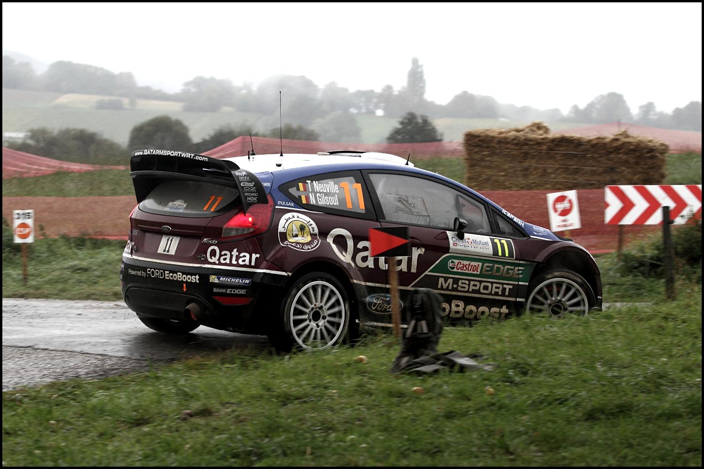 Thierry Neuville (Ford Fiesta RS WRC) Rallye de France Alsace