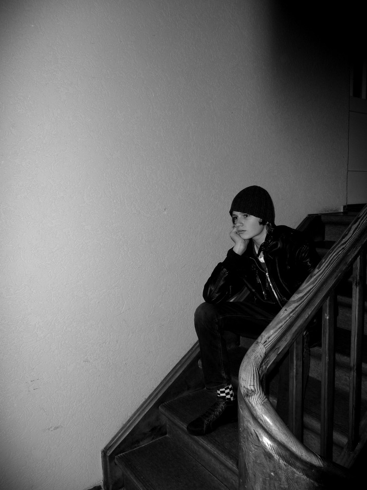 Thinking in the Staircase.