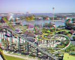 """This is a part of the """"La Ronde"""" amusement park site"""