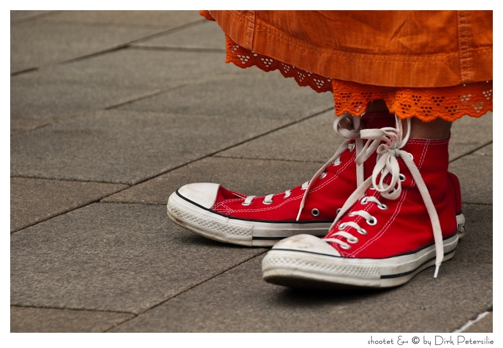 This shoes are made for walk.... ähh for comedian