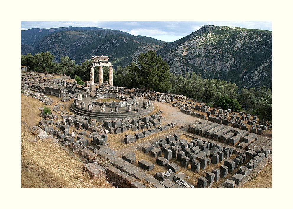 Tholos im Heiligtum der Athena Pronaia...