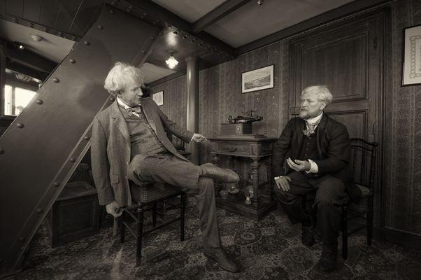 Thomas Edison & Gustave Eiffel