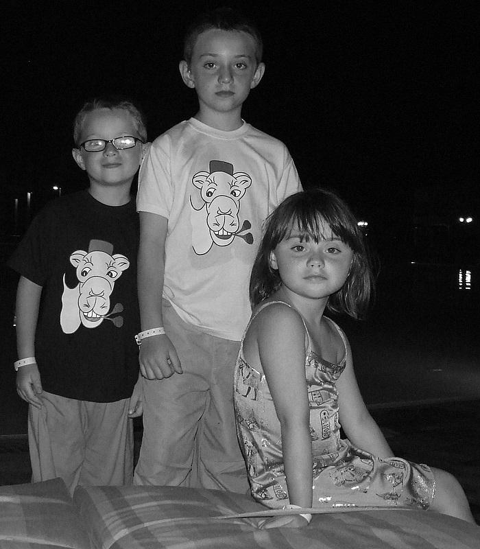 Thomas, Léa et Lucas
