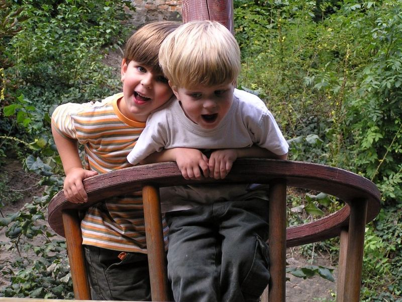 Thomas und Peter