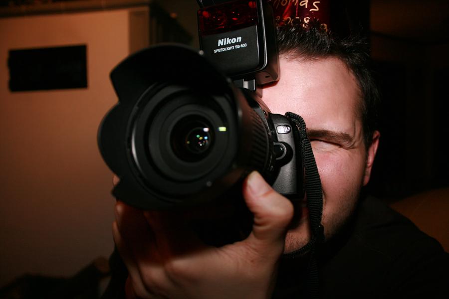 Thomas und seine Nikon