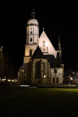 Thomaskirche bei Nacht