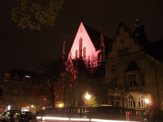 Thomaskirche Leipzig aus einem anderen Blickwinkel