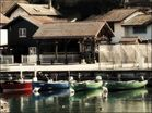 Thonon et son petit port des pêcheurs