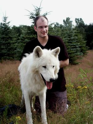 Thorsten mit dem Wolf !