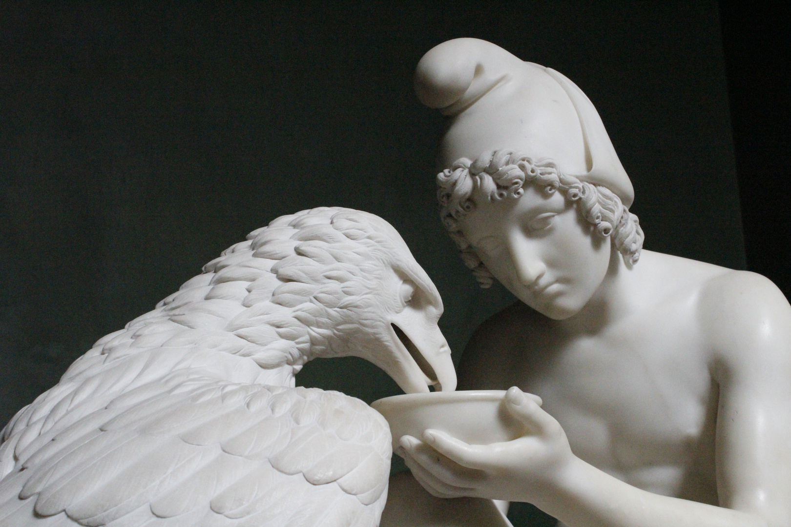 Thorvaldsennuseum Junge mit Adler