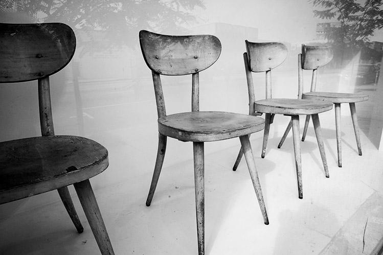 Three and Three Quarter Chairs
