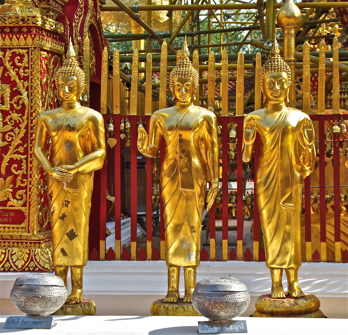 Three Buddhas.
