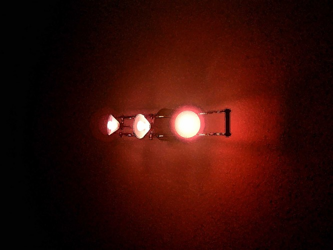 three lights zone