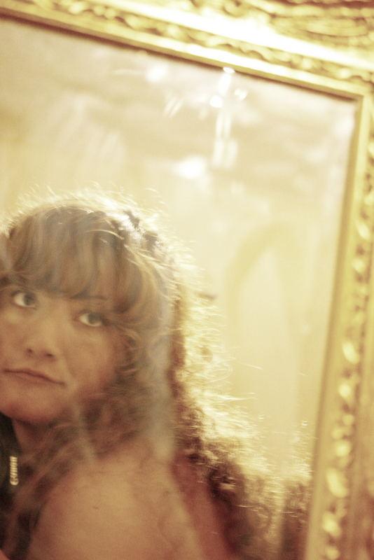 through a dirty mirror