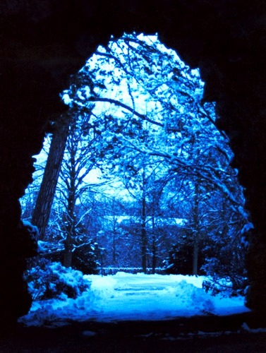 Through the gates of winter...
