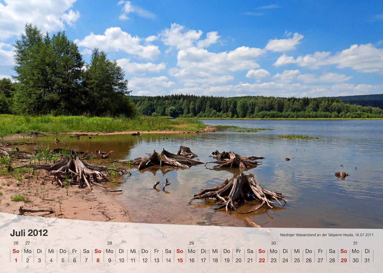 Thüringer Landschaften 2012 - Juli