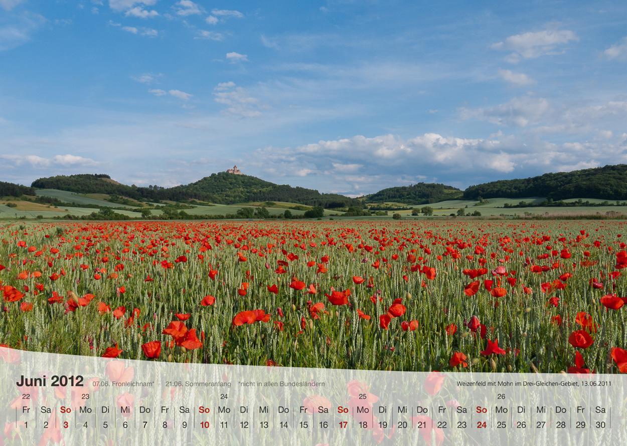 Thüringer Landschaften 2012 - Juni