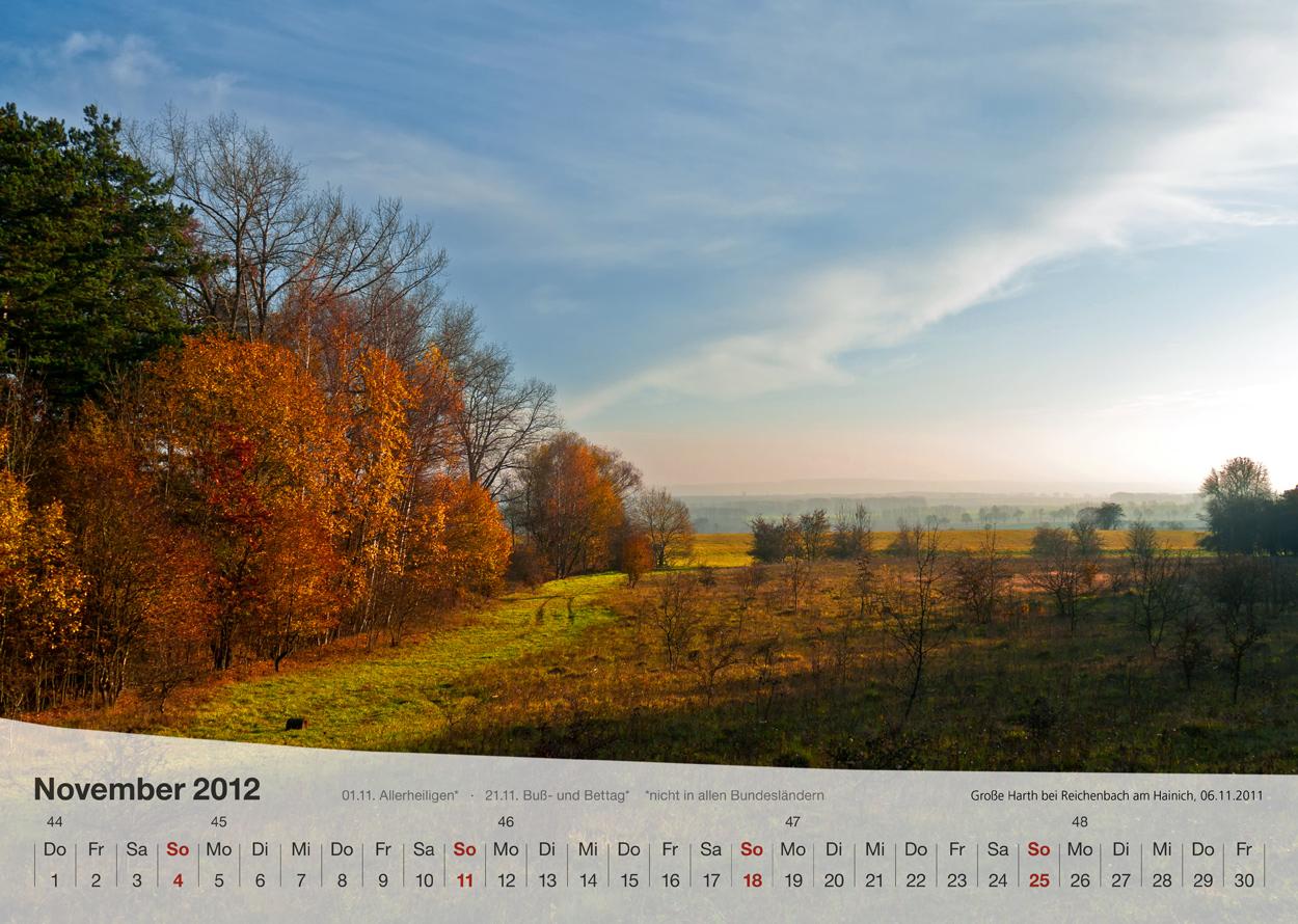 Thüringer Landschaften 2012 - November