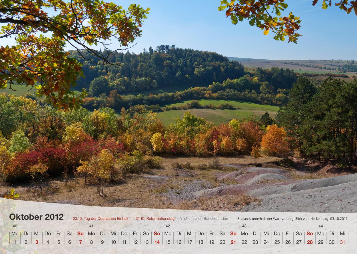 Thüringer Landschaften 2012 - Oktober