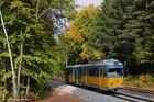 Thüringerwaldbahn . Herbstfarben