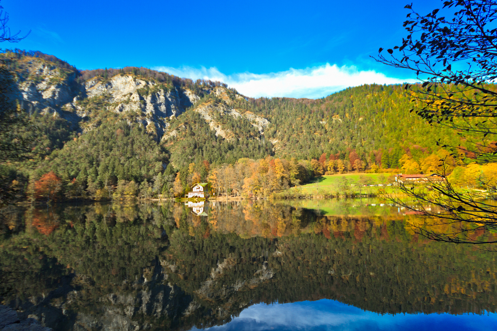 Thumsee im Herbst