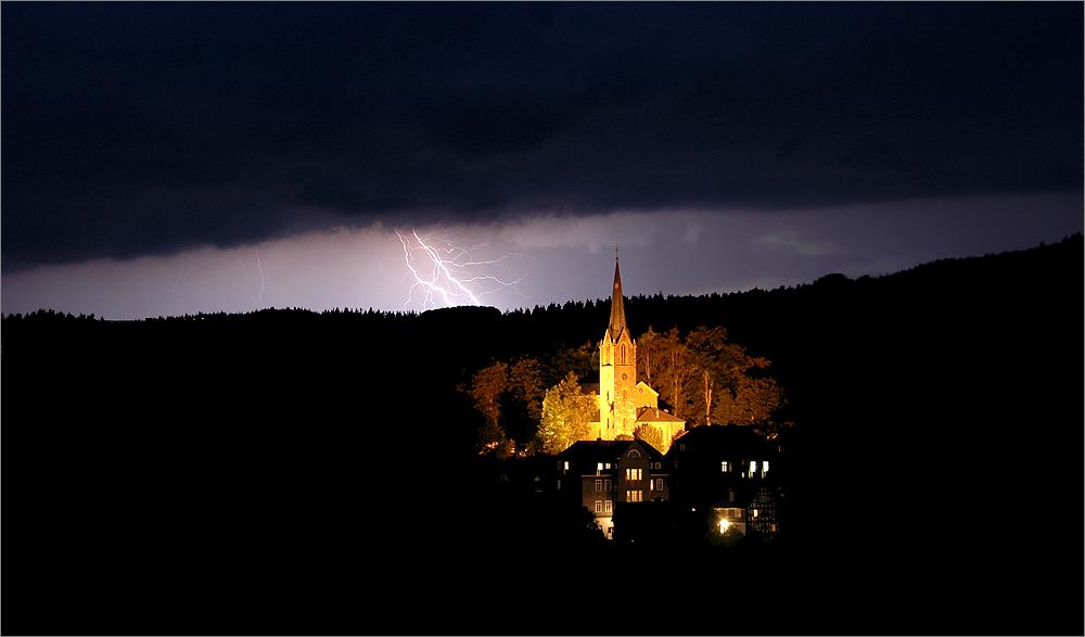 Thunder in Berleburg