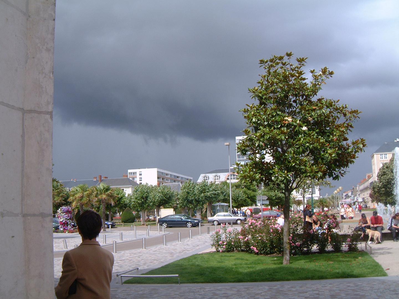 Thunder Storm over Les Sables d'Olonne